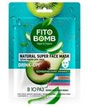 Тканевая маска Фитокосметик Увлажнение серии Fito Bomb
