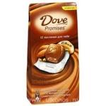Шоколадный набор Dove Promises молочный с миндалем