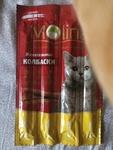 Жевательные колбаски Молина для кошек