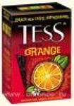 Чай Tess Orange черный c цедрой апельсина 100г