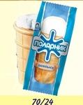 Мороженое Полярник Ванильный Стаканчик
