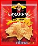 Carambas Nacho, Cheese Кукурузные чипсы со вкусом