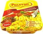 Лапша Роллтон с говядиной по-домашнему 100г контей