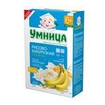 "Молочная каша ""Умница"" Рисово-кукурузная с бананом"