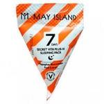 Ночная маска с фруктовыми кислотами и витаминами May Island 7 Days Secret Vita Plus-10 Sleeping Pac