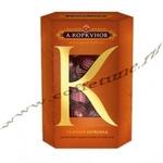 Шоколадные конфеты А Коркунов дробленый пьемонтски