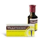 Капли гомеопатические Медитонзин