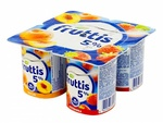 Fruttis йогурт с кусочками фруктов