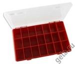 Коробка на 21 ячейку для хранения фурнитуры
