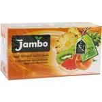 Чай чёрный байховый «Jambo» экзотик