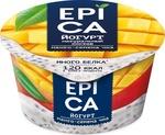 """Йогурт """"Epica"""", манго и семена чиа"""