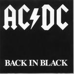 "Песня ""Back In Black"" AC/DC"