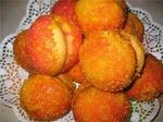 Пирожное персик