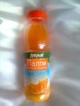 """Напиток  сокосодержащий  из  апельсина  с  мякотью  """"Палпи  свежая  мякоть""""  Добрый"""