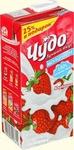 Молочный продукт Чудо клубника