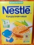 Кукурузная безмолочная каша Nestle