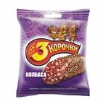 "Сухарики ""Три корочки"" колбаса"