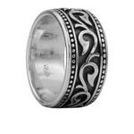 Серебряное кольцо Aloris