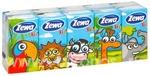 Носовые платки Zewa Kids 3-х слойные, 10*10 шт