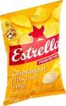 Estrella, Чипсы картофельные Сметана и сыр, 85г