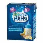 Кашка Фруто Няня Молочная овсяная с бананами