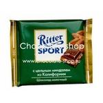 Шоколад с  цельным миндалем Ritter Sport