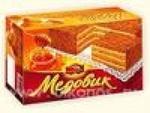 Торт Черемушки Медовик классический 380г