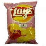 Чипсы картофельные Lays Краб