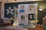 """Двухъярусная кровать-домик """"Домик мечты"""", Bukwood"""