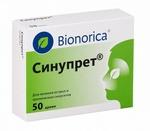 Таблетки Синупрет Bionorica