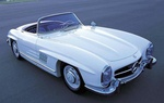 Автомобиль Mercedes-Benz 300SL, 1957 г.