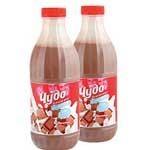 Коктейль Чудо молочное вкус Шоколад 2% 950г бутылк