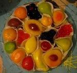 Мармелад АтАг шексна фигурный в виде фруктов