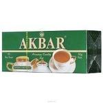 Чай Акбар зеленый 25 пак.