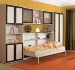 Детская модульная стенка Сканд-Мебель