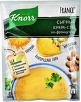 Суп из пакета Knorr сырный по-французски