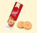 Печенье «Ажур» (клубника-крем)